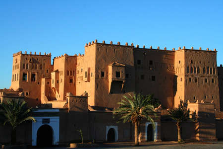 Old Fort - the kasbah in ouarzazate Stock Photo - 5895409