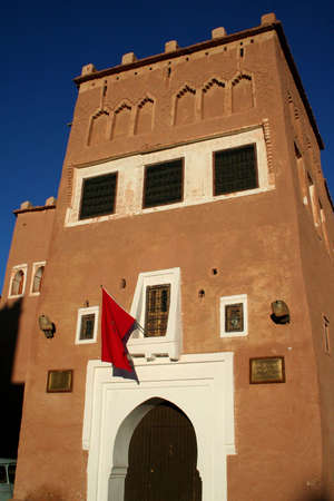 Old Fort - the kasbah in ouarzazate photo