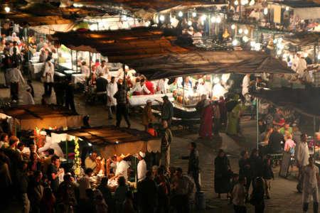 The Jema el Fna square in Marrakesh photo