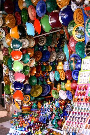 souk: moroccan market Stock Photo