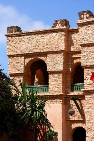 underprivileged: New Medina of Agadir, Morocco Stock Photo