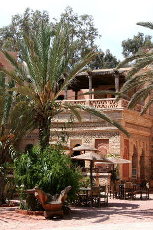 shantytown: New Medina of Agadir, Morocco Stock Photo