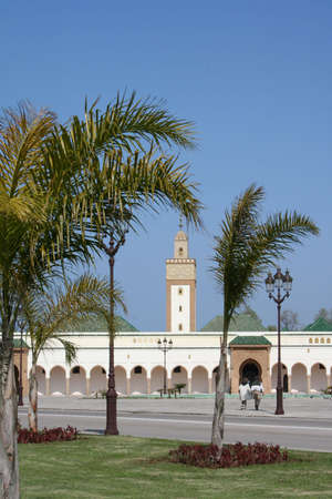 Royal Palace from Mohamed VI. in Rabat Stock Photo