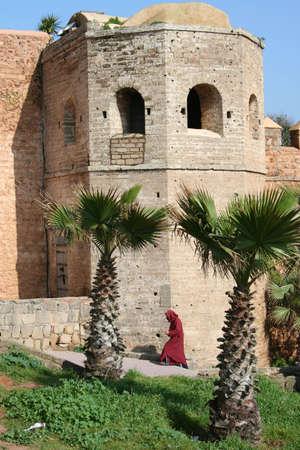 medina: Old medina walls in Rabat, Morocco
