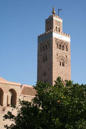 Koutoubia Minaret, Marrakesh, Morocco  photo