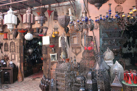 Moroccan style, Marrakesh, Morocco. photo