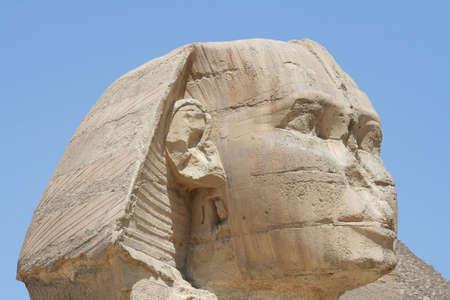 The Sphynx in gaza (Gizeh), Egypt photo