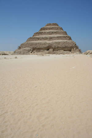 The Step Pyramid of Djoser (saqqara) in Egypt Stock Photo - 5916061