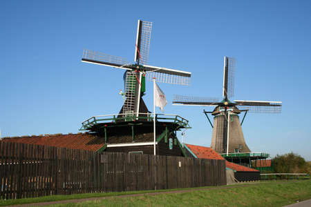 scenery at ZAANSE SCHANS in holland Stock Photo - 5916632