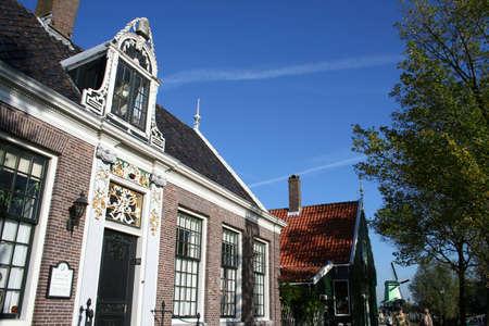 scenery at ZAANSE SCHANS in holland Stock Photo - 5916495