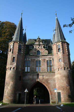 towers of zwolle in holland