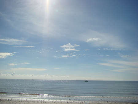Paradise beach at Hua-Hin, Thailand photo