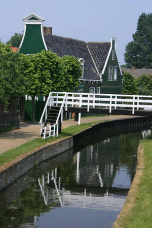 beautiful scenery at heritage museum of enkhuizen in north of holland Stock Photo - 5938000