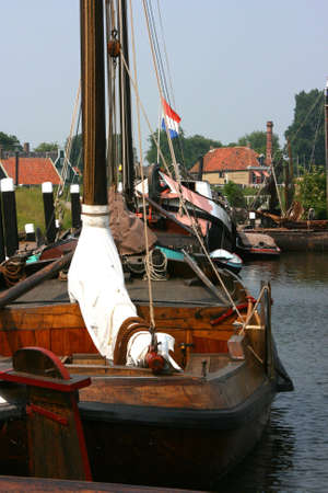 beautiful scenery at heritage museum of enkhuizen in north of holland Stock Photo - 5938009