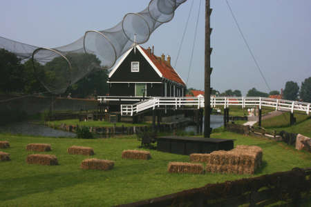 beautiful scenery at heritage museum of enkhuizen in north of holland Stock Photo - 5937996