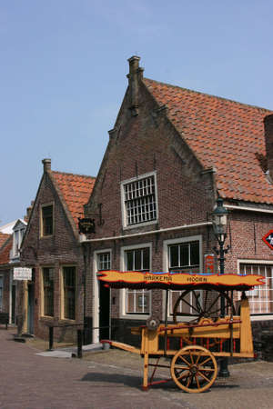 beautiful scenery at heritage museum of enkhuizen in north of holland Stock Photo - 5938003