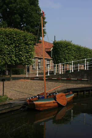 beautiful scenery at heritage museum of enkhuizen in north of holland Stock Photo - 5938002