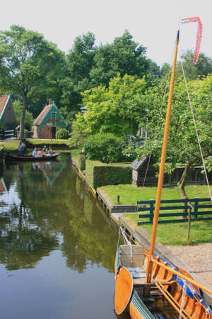 beautiful scenery at heritage museum of enkhuizen in north of holland Stock Photo - 5938034