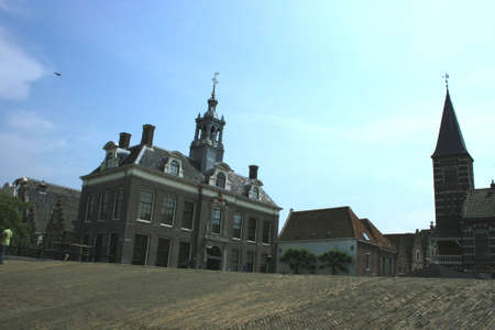 historic city of edam in north of holland Stock Photo