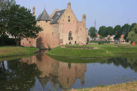 Radboud Castle at Medemblik in holland