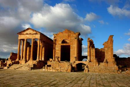 architrave: Tunisia. Ancient Sufetula (present day Sbeitla)