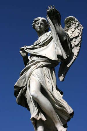 Rome - Angel at Saint Angelo Bridge photo