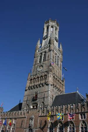 Belord-Tower in Brugge, Belgium photo