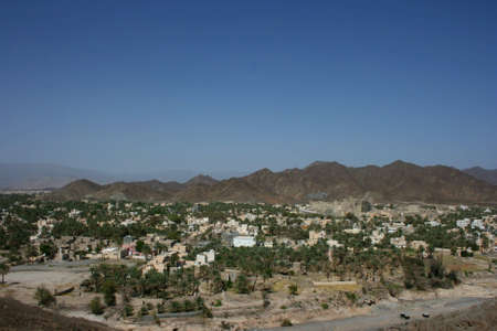 Bahla Fort in Oman  Stock Photo
