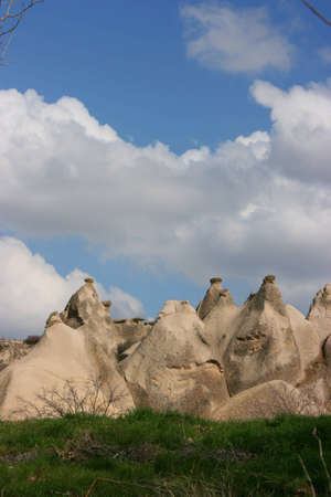 the valley of love in Goreme Cappadocia Turkey Stock Photo - 7241282