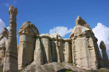 icey: the valley of love in Goreme Cappadocia Turkey