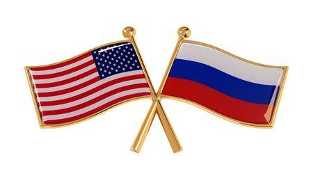 Golden Badge of Friendship between Russia and America