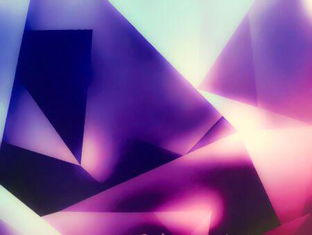 fuchsia color: Triangle magenta background