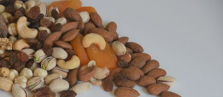 dried fruits and dried nuts Editorial