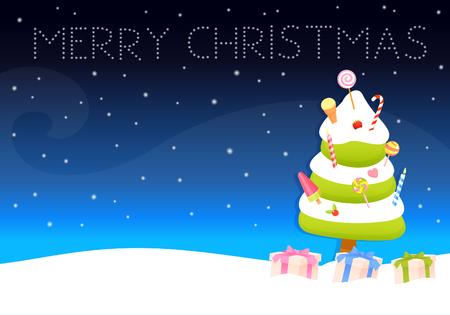 wish: cute Christmas wish card