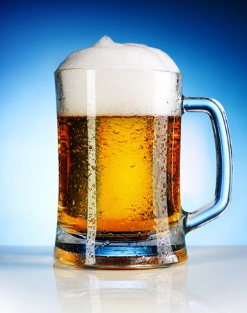 unbottled: Beer Stock Photo