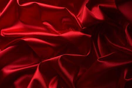 Red Silk Texture photo