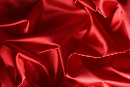 Red Silk Background photo