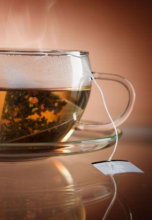 Hot Tea close-up photo
