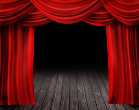 theater: Stage Curtain
