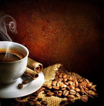 bönor: Kaffe Stockfoto