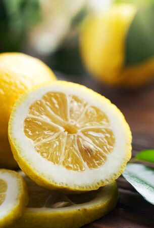 Beautiful Fresh Lemon photo