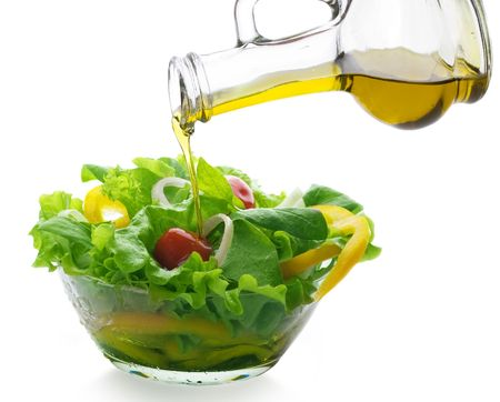 spinaci: Olio versano e sano Vegetable Salad