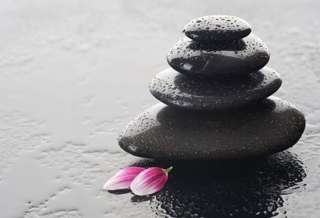 steine im wasser: Zen Stones