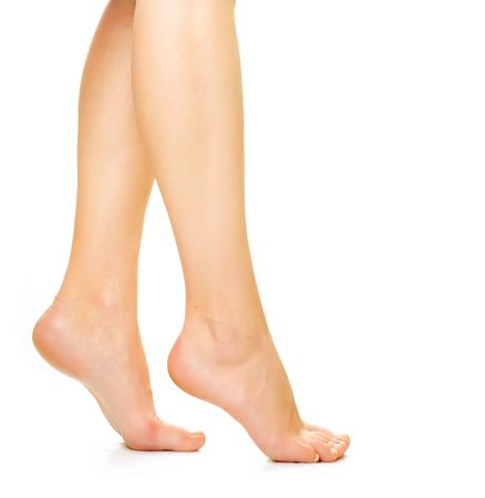 female soles:   Beautiful woman legs
