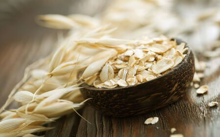 wood agricultural: Oat Stock Photo