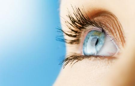 clear skin: Beautiful Eye