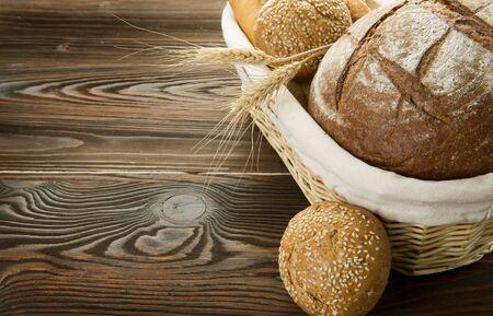 Baked Bread Border photo