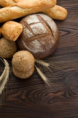 brown bread: Baked Bread Border