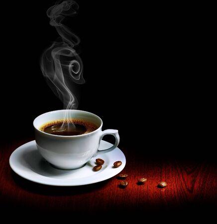 filiżanka kawy: DoskonaÅ'e Kawowa  Zdjęcie Seryjne