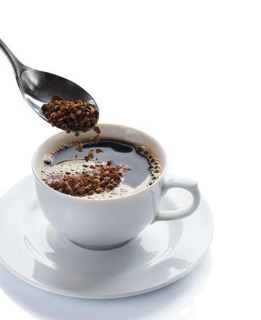 coffee froth: Coffee